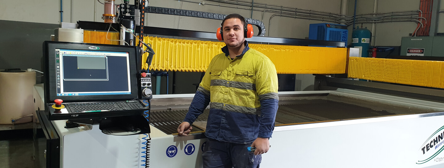 Alloy Steel Worker - TECHNI Waterjet