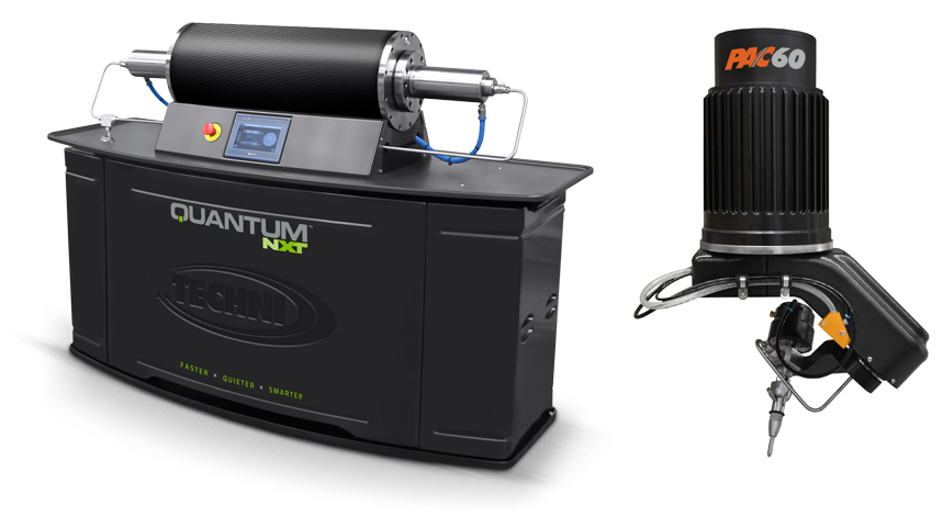 Quantum NXT and PAC 60 - TECHNI Waterjet