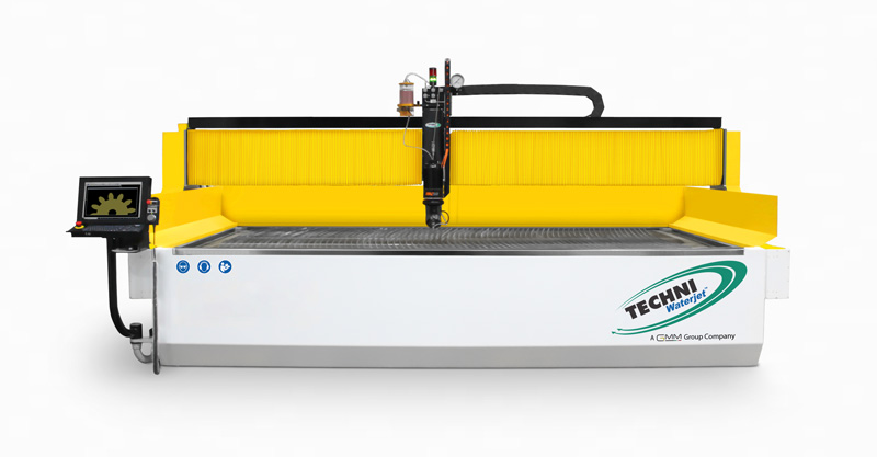 TECHNI Waterjet front View