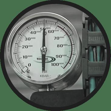 Pressure Meter - TECHNI Waterjet
